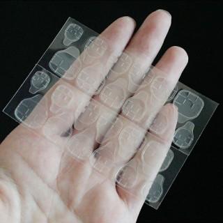 Miếng dán Silicon giữ móng giả 2 mặt, vỉ 24 miếng loại tốt giá rẻ thumbnail