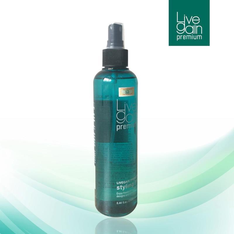 Keo Xịt Cứng Livegain Premium Styling Mist 250ml Hàn Quốc giá rẻ