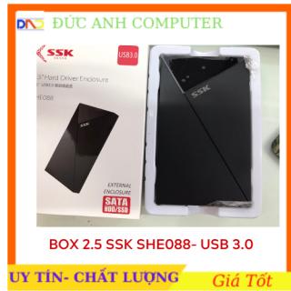Hộp Đựng Ổ Cứng HDD BOX SATA 2.5 USB 3.0 SSK (SHE-088)- Chính Hãng Full Box Bảo Hành 6 Tháng thumbnail