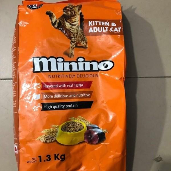 Thức ăn cho mèo Minino [1,3kg]