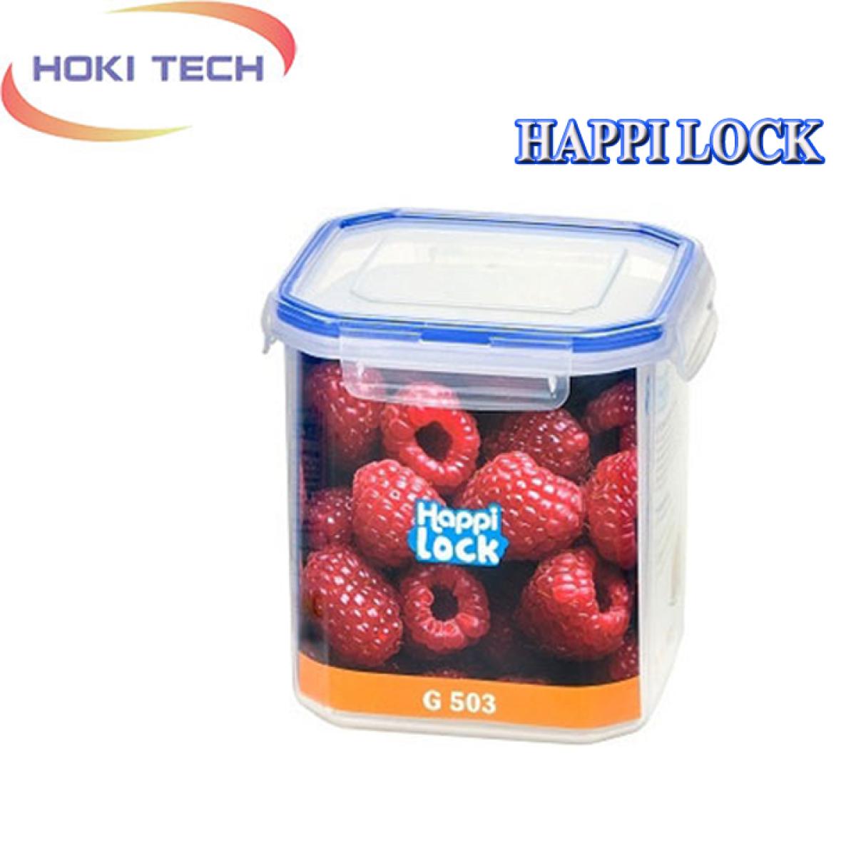 [XẢ KHO] Hộp Happi Lock 1200ml nắp gài 4 cạnh chắc chắn, đựng thực phẩm an toàn thumbnail