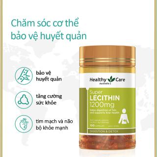 Mầm đậu nành Healthy Care Super Lecithin đẹp da, đào thải độc tố gan, cân bằng nội tiết tố thumbnail