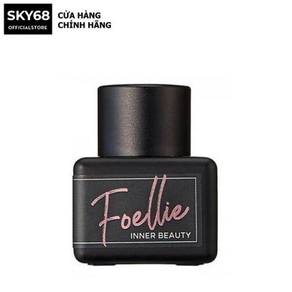 Nước hoa vùng kín hương thơm nồng nàn mãnh liệt Foellie Eau De Innerb Perfume 5ml - Bijou (chai đen) Best Seller