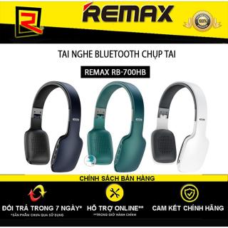 [HCM][ GIÁ CỰC SỐC ] Top 3 Tai Nghe Chụp Tai Chất Lượng Tốt Giá Rẻ Tai nghe Headphone Bluetooth Remax-700HB Âm Thanh Sống Động Nghe Nhạc Cực Hay Chơi Game Cực Đỉnh Thiết Kế Tinh Tế Đệm Tai Mềm Mại Cuộc Gọi Rảnh Tay Pin Lâu thumbnail