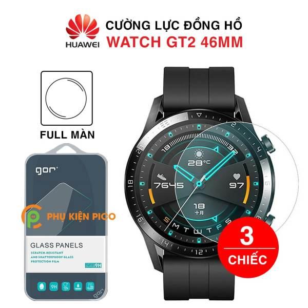 Cường lực Huawei Watch GT 2 46mm nguyên gốc Gor bộ 2 cái - Dán màn hình đồng hồ Watch GT 2 trong suốt
