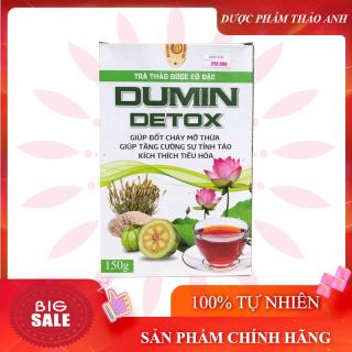 Trà giảm cân Dumin Detox giảm cân nhanh kích thích tiêu hóa hộp 150gr thumbnail