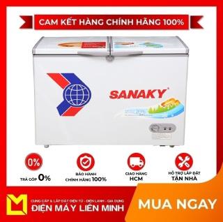TRẢ GÓP 0% - Tủ đông Sanaky VH-3699A1 360 lít - Miễn phí vận chuyển HCM thumbnail