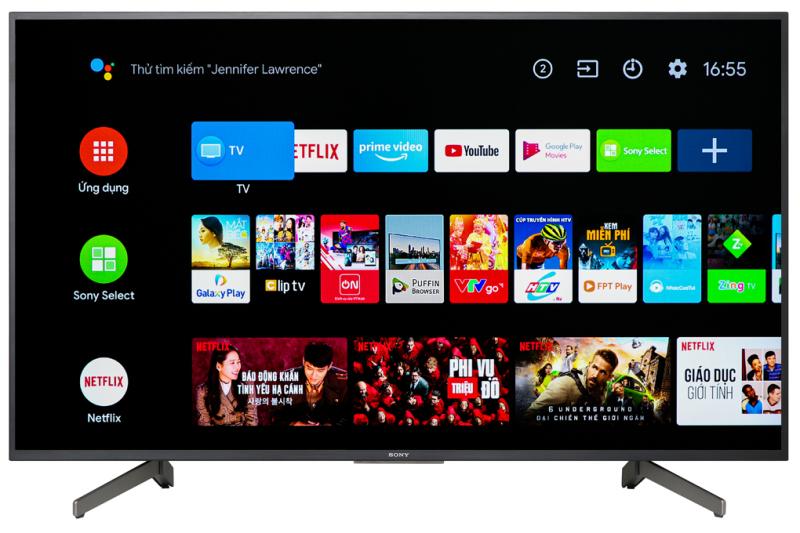 Bảng giá Android Tivi Sony 4K 55 inch KD-55X8000G