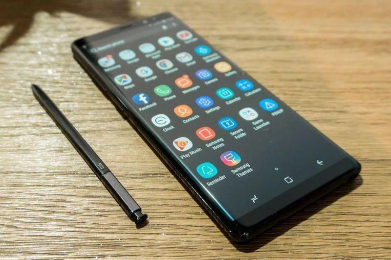 TRẢ GÓP 0%  BẢO HÀNH 12 THÁNG  Điện Thoại Samsung Galaxy Note 8 HongKong, Dual Sim, 6/64GB, Chip Snapdragon 835, Pin 3300mA - Phân Phối Xách Tay Chính Hãng