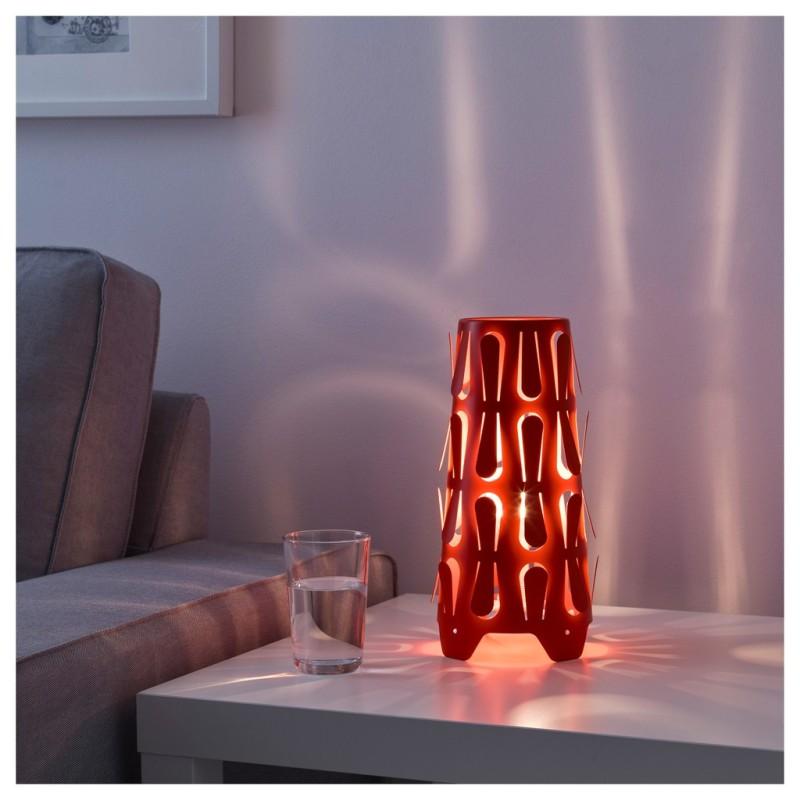 Đèn bàn trang trí Kajuta (Kèm bóng LED IKEA ánh sáng vàng)