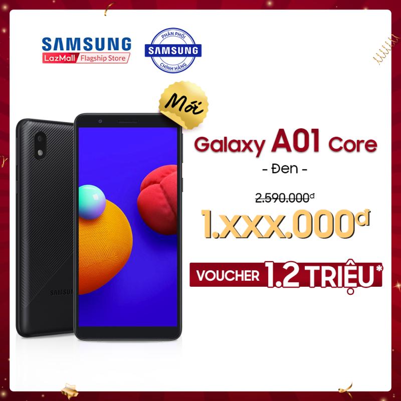 [PHIÊN BẢN MỚI] Điện thoại Samsung Galaxy A01 Core (2GB/32GB)  - Màn hình chuẩn HD+ - Mới 100% - Bảo Hành 12 tháng -  Miễn phí vận chuyển