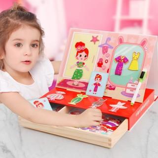 Thúc đẩy sự phát triển trí não của trẻ em nhà thiết kế đồ chơi tạo ra trò chơi ghép hình cho bé gái thumbnail