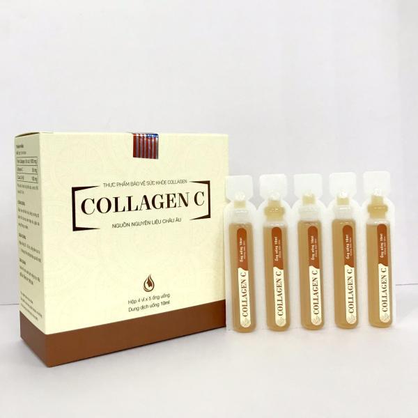Collagen C - Giúp hạn chế lão hóa da - giải pháp làm đẹp của phái nữ