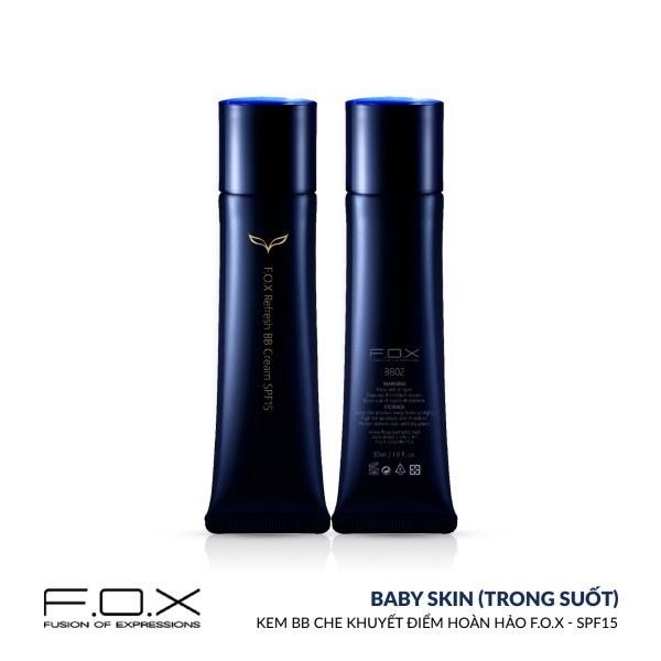 [TAIWAN COSMETICS] Kem BB Che Khuyết Điểm Hoàn Hảo FOX - SPF 15 Refresh BB Cream SPF15 30ml tốt nhất