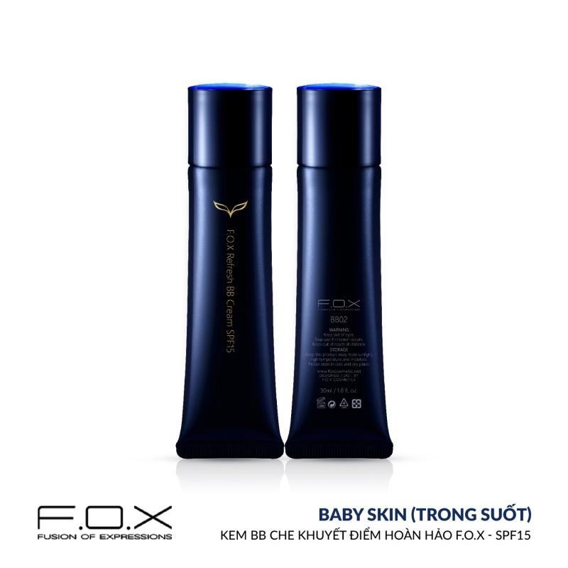 [TAIWAN COSMETICS] Kem BB Che Khuyết Điểm Hoàn Hảo FOX - SPF 15 Refresh BB Cream SPF15 30ml