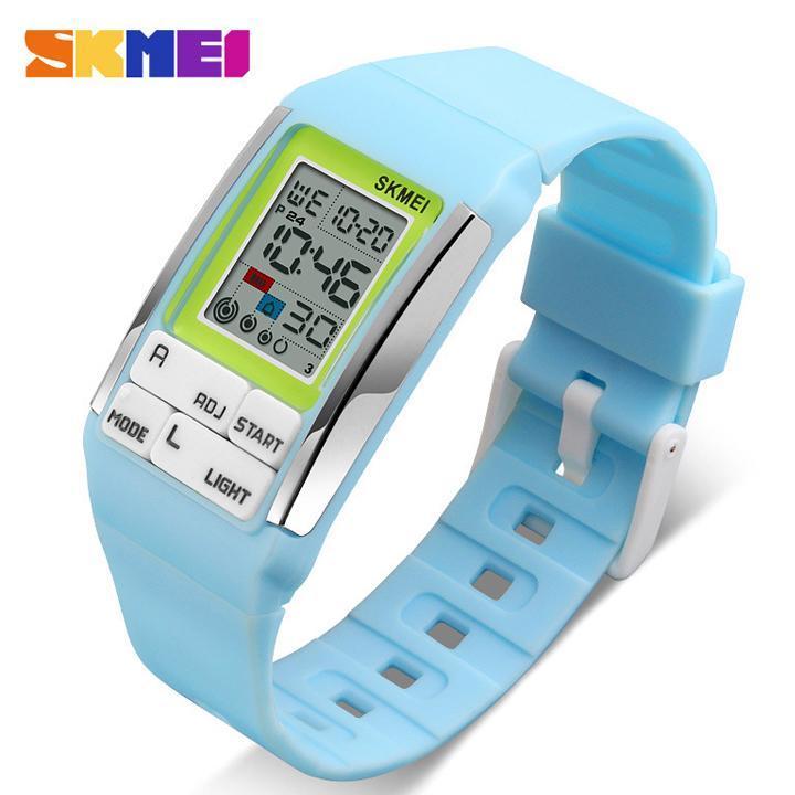 Đồng hồ thời trang nữ kỹ thuật số Skmei DHR1276 +Full hộp sắt Skmei bán chạy