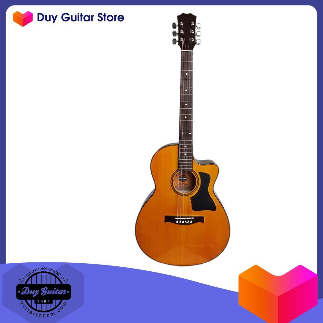 Đàn guitar Acoustic DT70 vàng cánh gián - Có clip test âm thanh - Duy Guitar Store