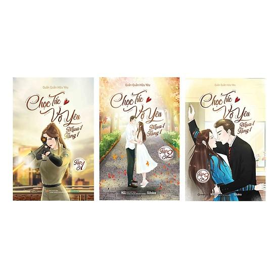 Mua Sách Ngôn Tình - Chọc Tức Vợ Yêu Mua 1 Tặng 1 (Trọn Bộ 3 Tập) - kèm bookmark của truyện