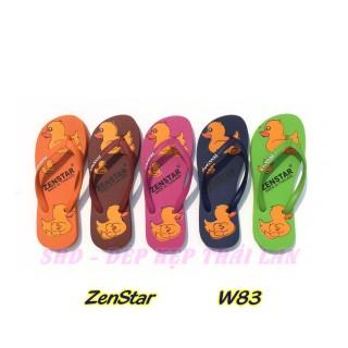 W83 Dép Thái Lan, Dép kẹp, dép xỏ ngón Zenstar W83 Đi biển, trong nhà Dành cho nữ thumbnail