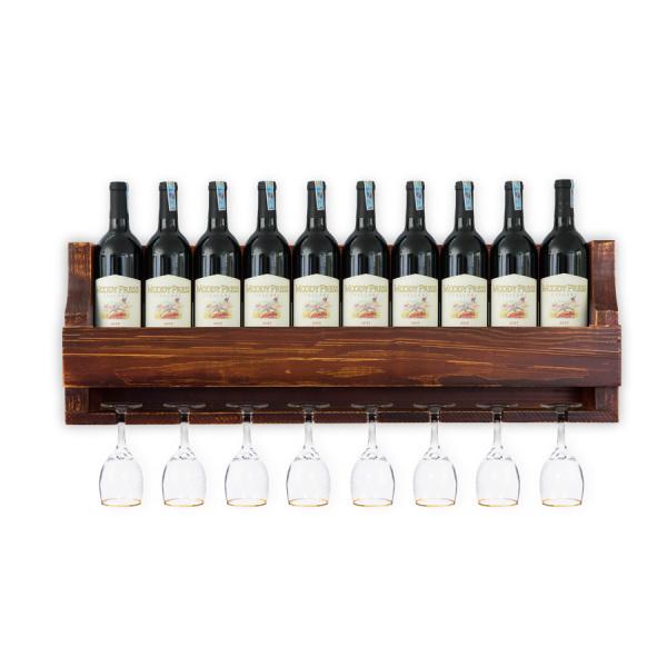 Kệ Rượu Treo Tường KR23