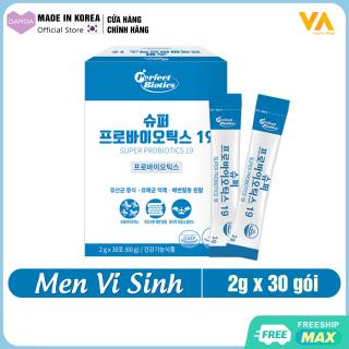 Bột Men Vi Sinh Lợi khuẩn, Cải thiện Hệ tiêu hóa và Vấn đề đường ruột VA Super Probiotics 19 - Thực phẩm Chức năng Hàn Quốc thumbnail