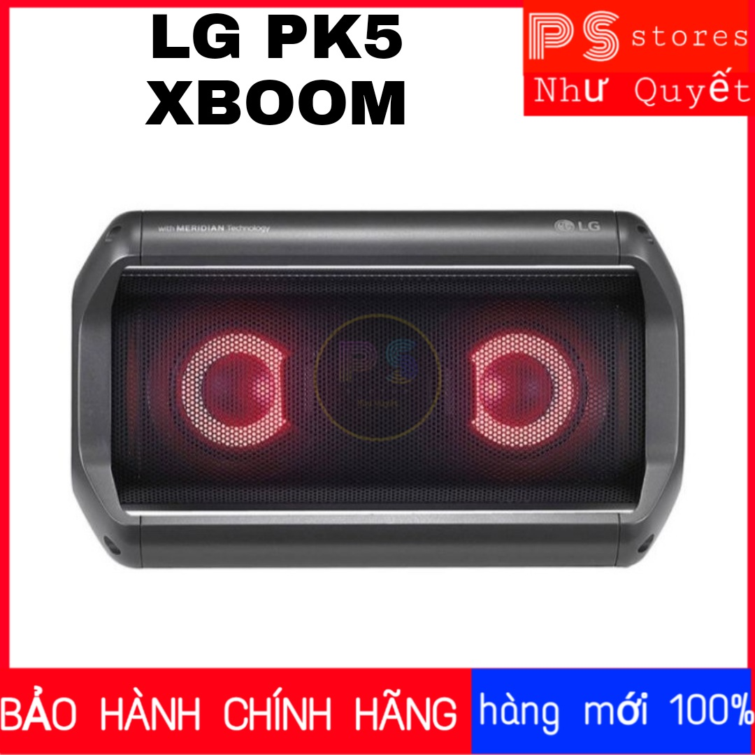 Loa Bluetooth XBOOM LG PK5 mới 100%