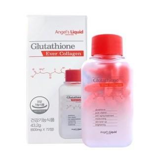 Viên uống trắng da Glutathione Ever Collagen Hàn Quốc hộp 72 viên thumbnail
