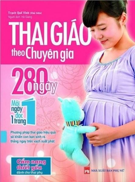 Mua Sách - Thai Giáo Theo Chuyên Gia - 280 Ngày - Mỗi Ngày Đọc Một Trang