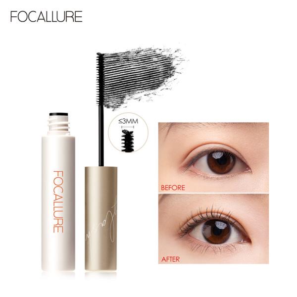 Mascara FOCALLURE giúp chuốt lông mi dài cong và đều kích thước đầu cọ 3mm 6g giá rẻ