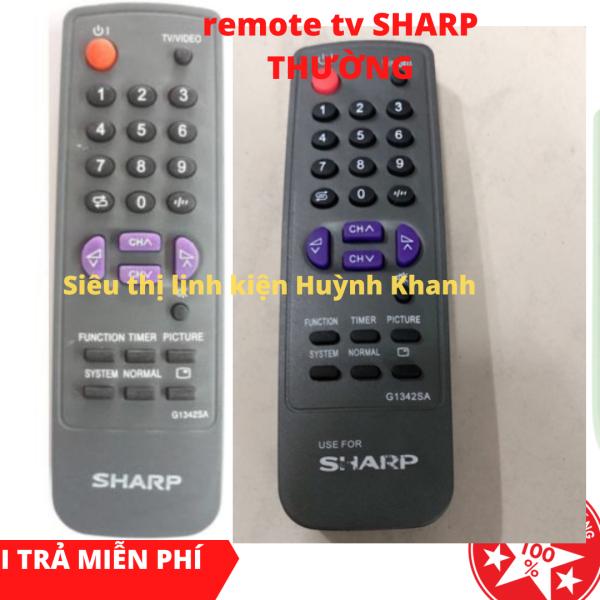 Bảng giá REMOTE TV SHARP THƯỜNG ( ĐỜI CŨ) CHÍNH HÃNG