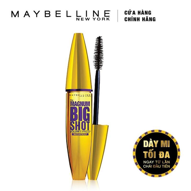Mascara dày mi cực đại Maybelline New York New York Magnum Bigshot 10ml (Đen)