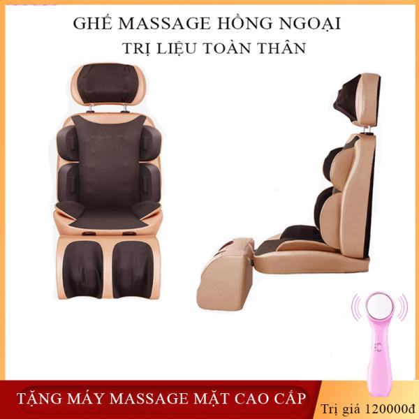 Ghế massage hồng ngoại trị liệu Good Life - ghế mát xa toàn thân cao cấp- ghế massage trị liệu đau nhức mỏi toàn thận an toàn hiệu quả-