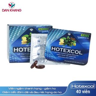 Kẹo Ngậm Thanh Họng Hotexcol Hộp 10 vỉ x 4 viên thumbnail