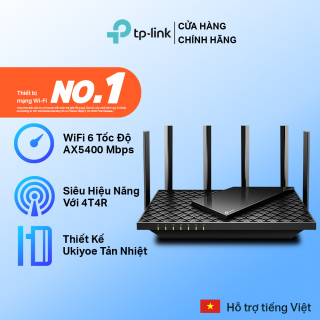 Bộ Phát Wifi TP-Link Archer AX73 Wifi 6 Gigabit Băng Tần Kép AX5400 thumbnail