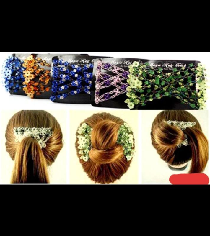 Kẹp tóc thời trang đa kiểu cách giá rẻ