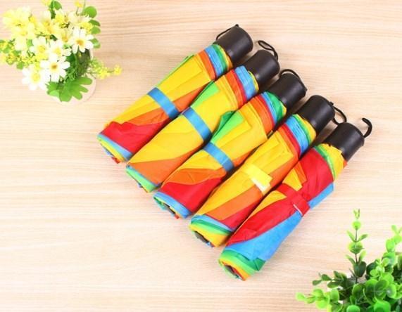 Dù che mưa, che nắng phong cách Hàn Quốc 7 màu - Ô che mưa