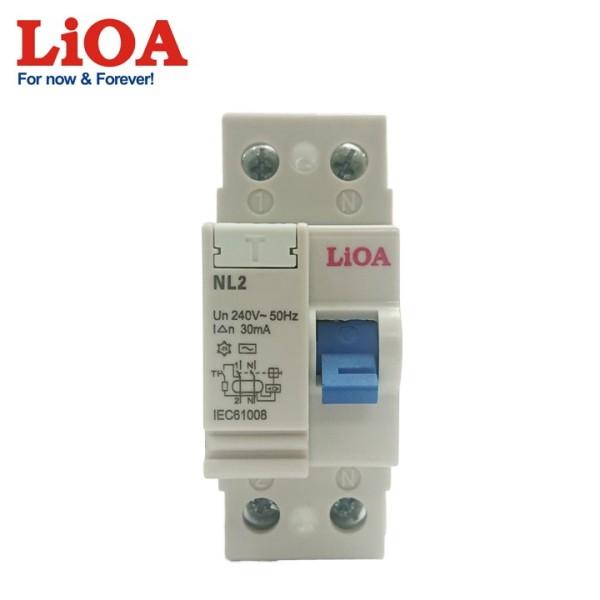 Aptomat Chống giật LIOA 2P 32A - 30mA 240V AC - Chính hãng