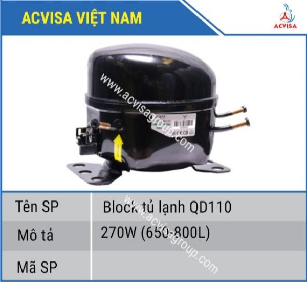 Block Tủ Lạnh QD110-270w(650L-800L)