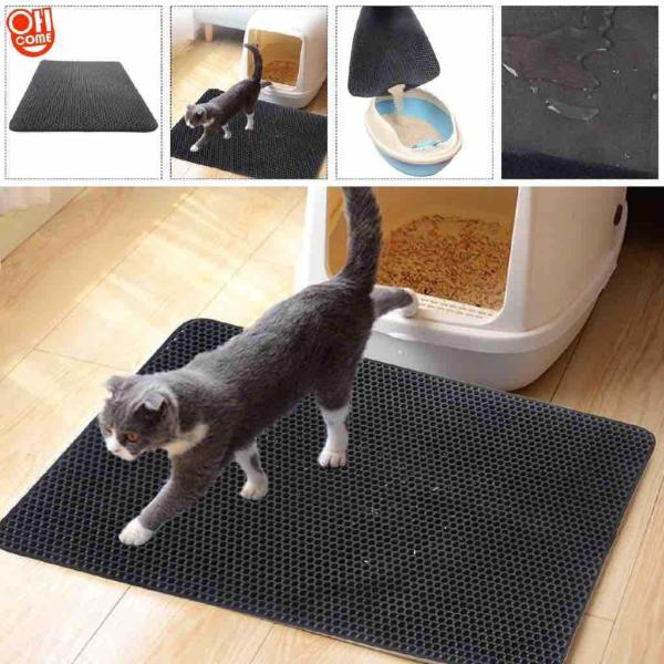 Thảm lót khay vệ sinh chống vương vãi cát size S (45x50cm)