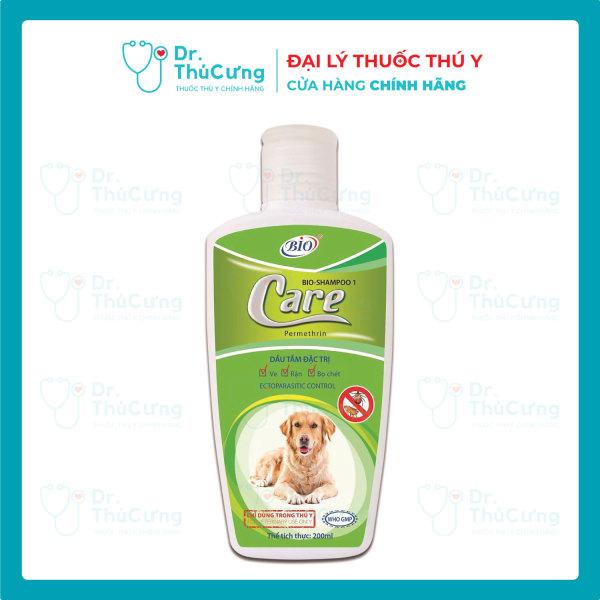 Sữa tắm chó mèo bio CARE