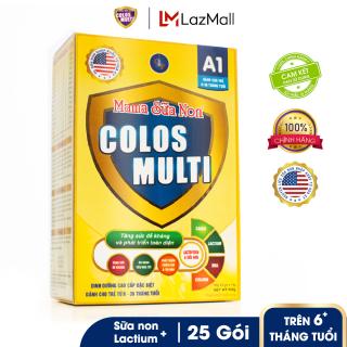Sữa bột tăng sức đề kháng Mama Sữa Non Colos Multi A1 hộp 25 gói x 14g thumbnail