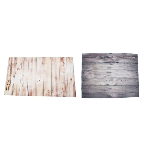Giá bán 2 Pcs 3X5FT Vinyl Wood Wall Floor Backdrop Photography Background Photo Studio Props, N0.1 & No.2