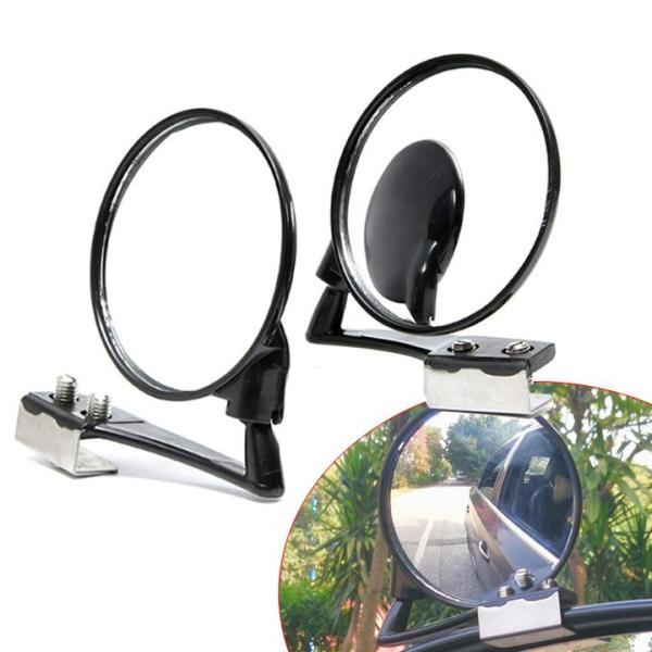 Gương cầu 360 gắntrên gương chiếu hậu tăng tầm nhìn cho ô tô 01 GƯƠNG BÊN TRÁI MÀU ĐEN