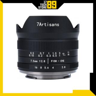 Ống kính 7artisans 25mm f1.8 (Manual Focus) Ngàm Fujifilm-Sony thumbnail