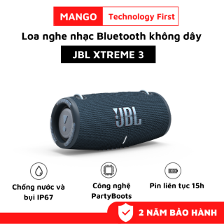 Loa Bluetooth JBL Xtreme 3, Loa Nghe Nhạc Karaoke Công Suất Lớn 40W, Loa Bass Mạnh, Treble Rời, Sử Dụng Với Máy Tính, Vi Tính, LapTop, PC, TiVi BLuetooth 5.1 - Chống Nước, Chống Bụi IP67 - Chơi Nhạc 15h - Dùng Cho Máy Tính, Ti Vi, LapTop thumbnail