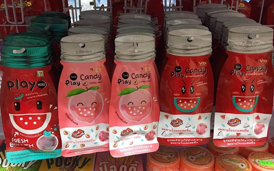 Combo 10 gói kẹo Play nhập khẩu Thái Lan