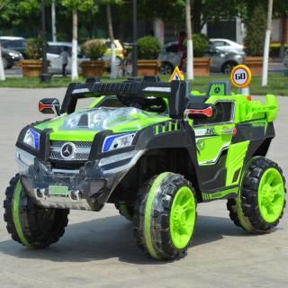 Ô tô xe điện đồ chơi MERCEDES NEL 803 12V 10AH mẫu địa hình cho bé tự lái hoặc có điều khiển (Đỏ-Vàng-Xanh) thumbnail