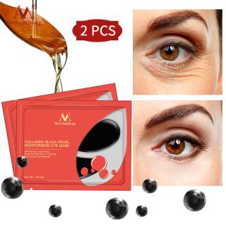 5 Gói mặt nạ mắt MeiYanQiong collagen ngọc trai đen chống lão hoá xoá nếp nhăn loại bỏ quầng thâm thumbnail