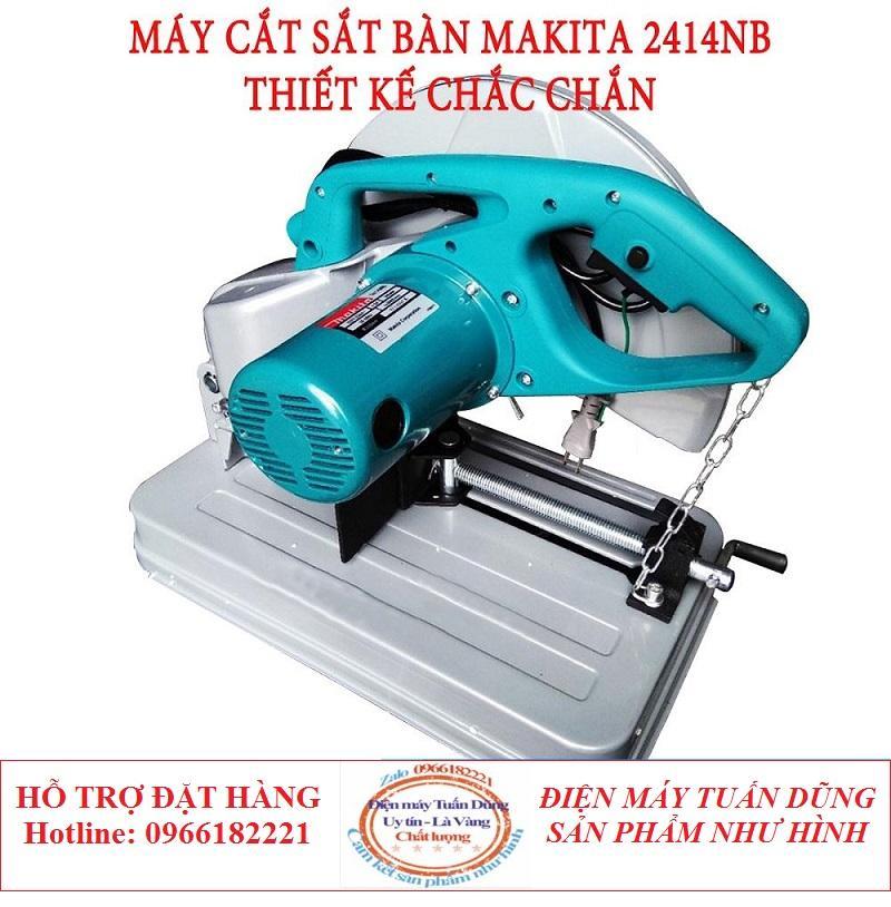 Máy cắt sắt Makita-2414NB - 100 dây đồng - hàng chất lượng cao loại 1
