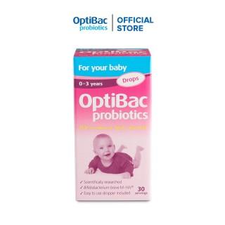 Lợi khuẩn dạng giọt OptiBac for your Baby đặc chế cho trẻ sơ sinh và trẻ nhỏ - Nhập khẩu UK thumbnail
